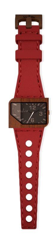 Red Leather Avanti- Pui Wood , en vente chez Dominic Dufour Joaillier, 150 chemin de la Grande-Côte, Rosemère Qc.