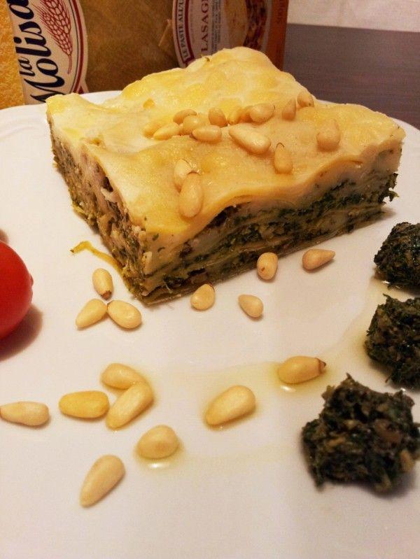 Pesto Lasagna... mmmm...Amazing!