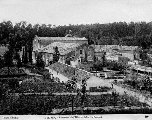 Abbazia delle Tre Fontane 1904