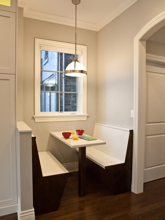 Contemporary Kitchen Breakfast Nook Design, Pictures, Remodel, Decor and Ideas - page 2
