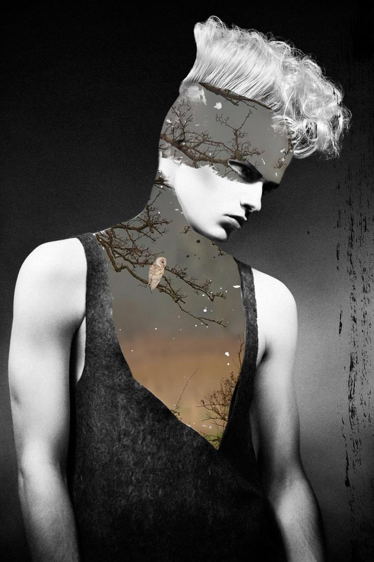 Jenya Vyguzov's Mixed Media Collages   25th century