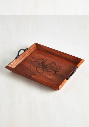 Meet Me at the Mollusk Tray - Nautical, Better, Brown, Solid