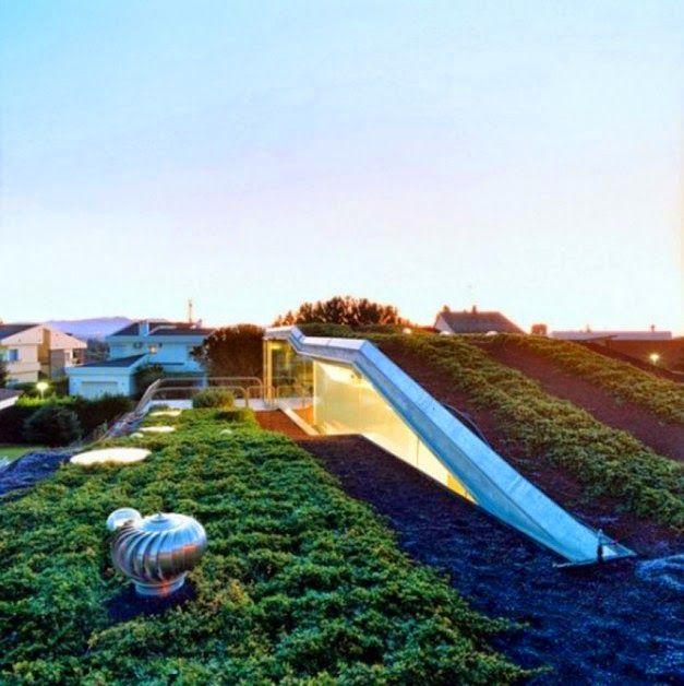Desain Cantik Taman Atap Rumah