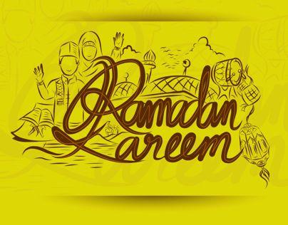 "Check out new work on my @Behance portfolio: ""Ramadan Kareem and Eid Mubarak Handrawn Lettering"" http://on.be.net/1IzP7YX"