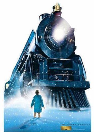 THE POLAR EXPRESS TRAIN TOM HANKS LIFE SIZE STANDUP CARDBOARD CUTOUT 2137