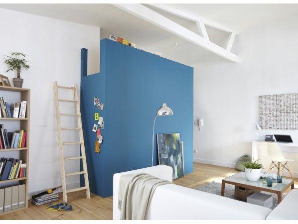 Une mezzanine chambre dans le salon | Leroy Merlin