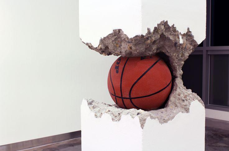 Ball in the Pillar (detail), Shan Hur.
