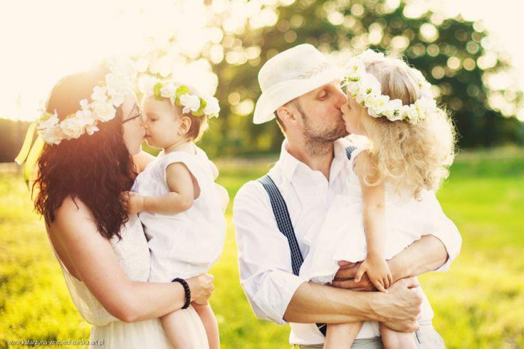 Rodzinna, letnia sesja zdjęciowa - Katarzyna Wojciechowska Fotografia