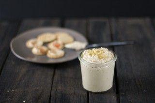 Classic Cashew Cheese: nutritional yeast, lemon, garlic, white wine, dijon mustard