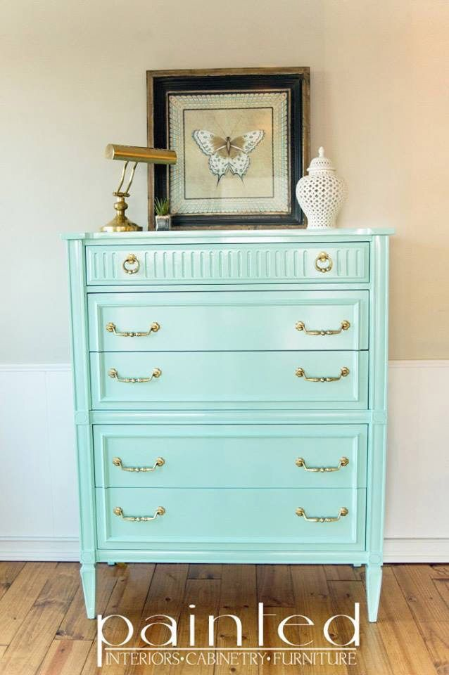 Minty chest by Kayla via FFF#34 by Painted