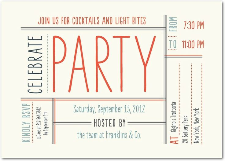 11 best Corporate event invitations images on Pinterest Event - business dinner invitation sample