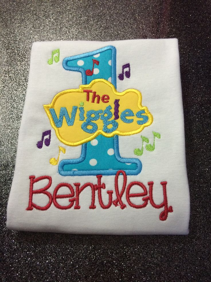 Boys wiggles onesie/shirt available in sizes newborn - 6 $35