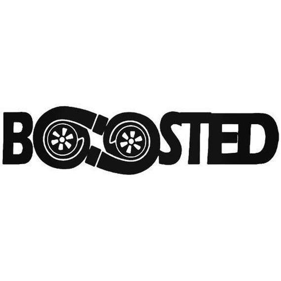 "GOT BOOST Decal Sticker JDM Funny Vinyl Car Window Bumper Truck Laptop Wall 7/"""