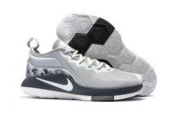 ff16e99c393 Nike Lebron Witness II Grey Camo Men s Basketball Shoes in 2019 ...