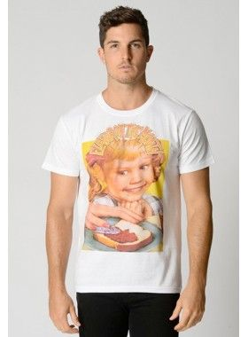 Flavour of the Month White T-Shirt. Buy @ http://thehubmarketplace.com/flavor-comic-funny-hiphop-tee-tshirt