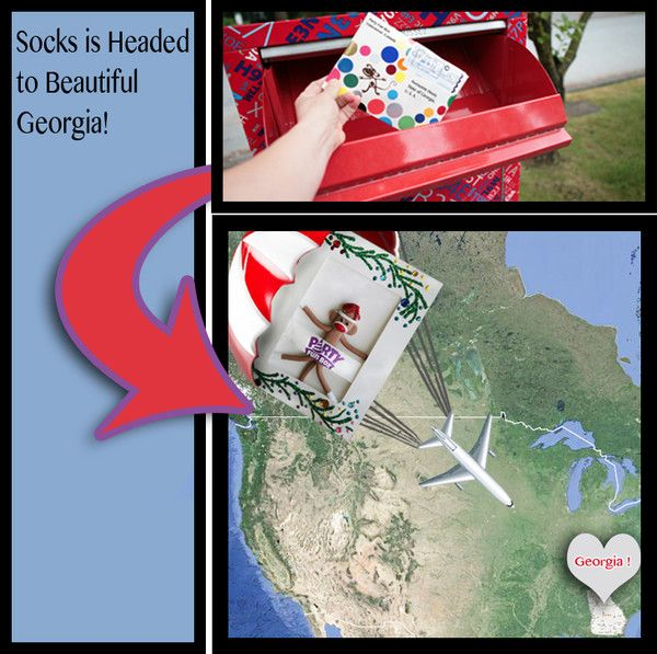 Socks is Headed to Georgia!