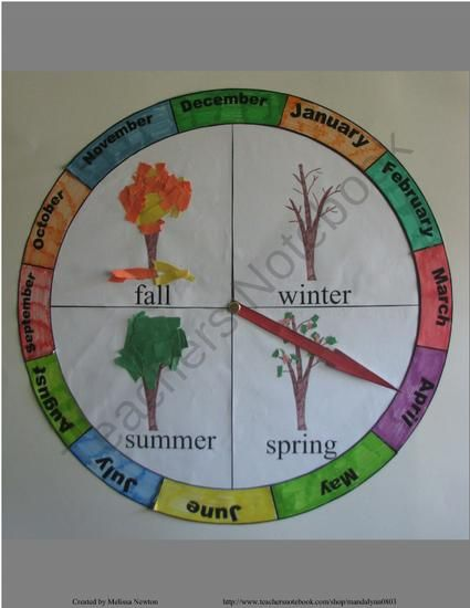Seasons Calendar Kids : Best images about seasons ideas kids on pinterest