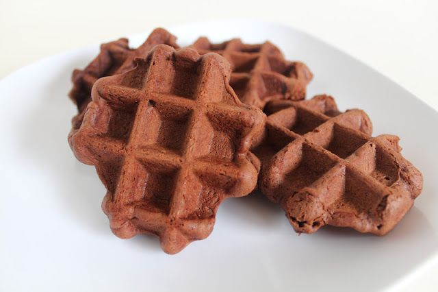 Chocolate Waffle Cookies - fun cookies baked right in the waffle iron ...