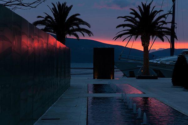 Stunning #sunset in #Montenegro