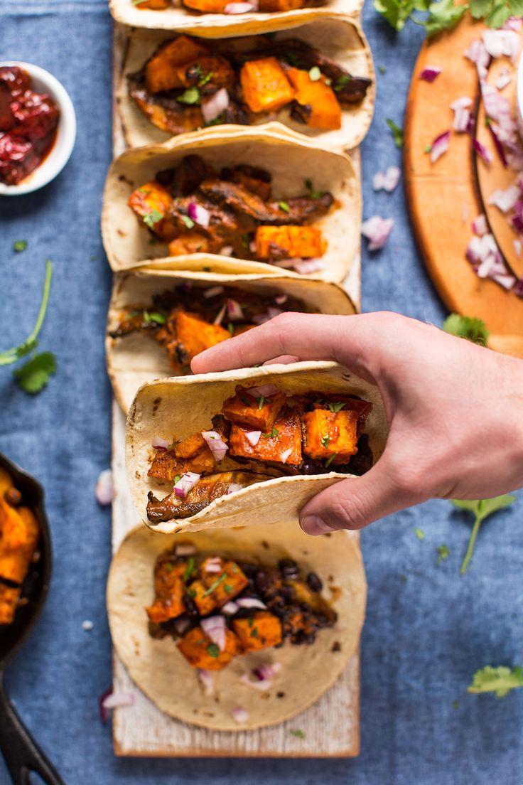 amazing-fast-saucy-portobello-and-butternut-squash-tacos-vegan-tacos-recipe-squash-glutenfree-easy