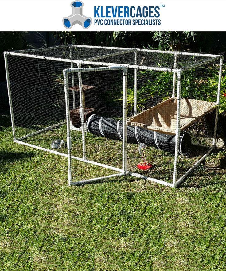 Cat / Pet Enclosure Kit ( includes netting and hammock