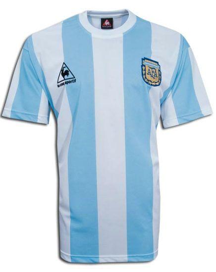 Maillot Equipe d'Argentine 1985-1986 domicile