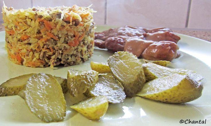 De keuken van Martine: Witte kool-hydraatarme nasi