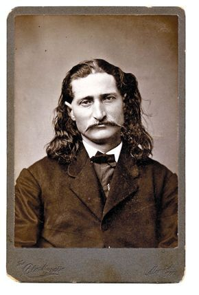 Wild Bill Hickok is probably the most famous Deadwood resident, even though he was only in town a few short weeks.  James Butler Hickok arrived in Deadwood, along with Colorado Charlie Utter and Calamity Jane, in July of 1876.  He was a well-known gambler and gunslinger, participating in many shootouts before coming to Deadwood. He was killed on August 2, 1876 when Jack McCall shot him from behind while playing poker.