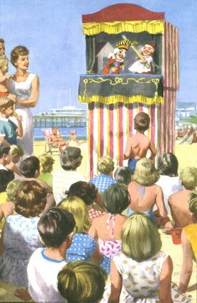 Punch and Judy - Peter And Jane, Happy Holiday..