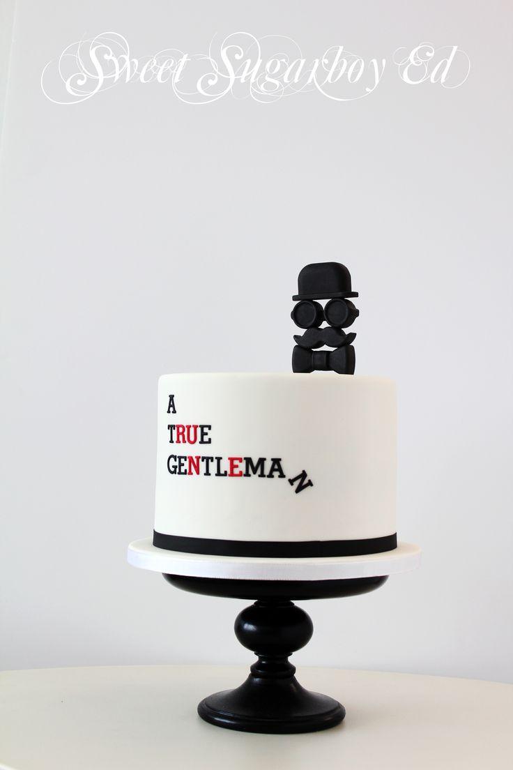 A True Gentleman Cake 2014