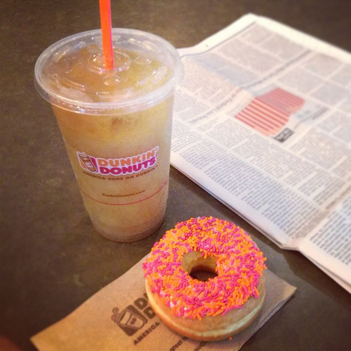 What Dunkin' drink and donut combo are you craving?