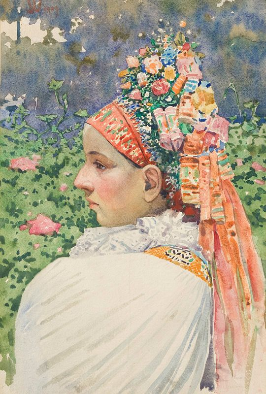 Bride by Joža Úprka, 1909. Slovak national gallery, CC BY