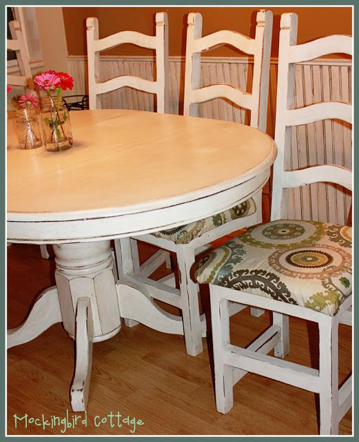 Refinish Kitchen Table: 18 Best Pedestal Tables And Chairs Images On Pinterest