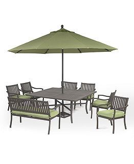 Commacys Outdoor Furniture : ... Outdoor Patio Furniture Collection Sets & Pieces - furniture - Macy