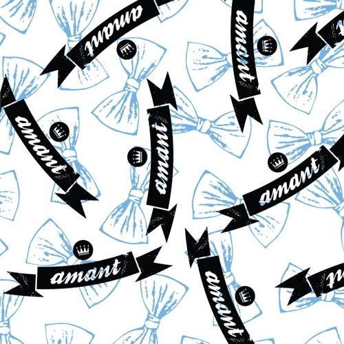 Pattern design/panties for PTNS by Magda Bielecka, via Behance