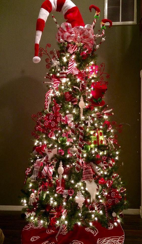 23 best felt elf hat tree topper images on pinterest christmas - Whimsical Christmas Tree Toppers