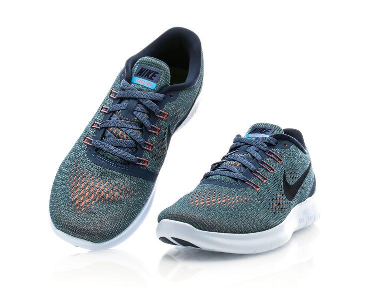 Nike - Free Run - Grå/Blå