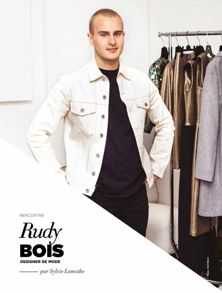 In the latest issue of Capitale Design magazine, you can read a full article about our fashion designer Rudy Bois and his brand. Plus, discover why he likes to give conferences about his work and his life experience. Read it here! #fashion #designer #magazine #mode