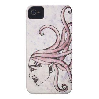 Octopuss Medusa iPhone 4 Case by Apple of my Odd Eye