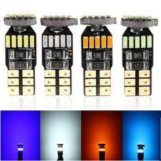 #Banggood 4014 LED белый голубой лед боковой габаритный фонарь колбы лампы T10 Ошибка CANbus бесплатно 15 СМД (1120478) #SuperDeals