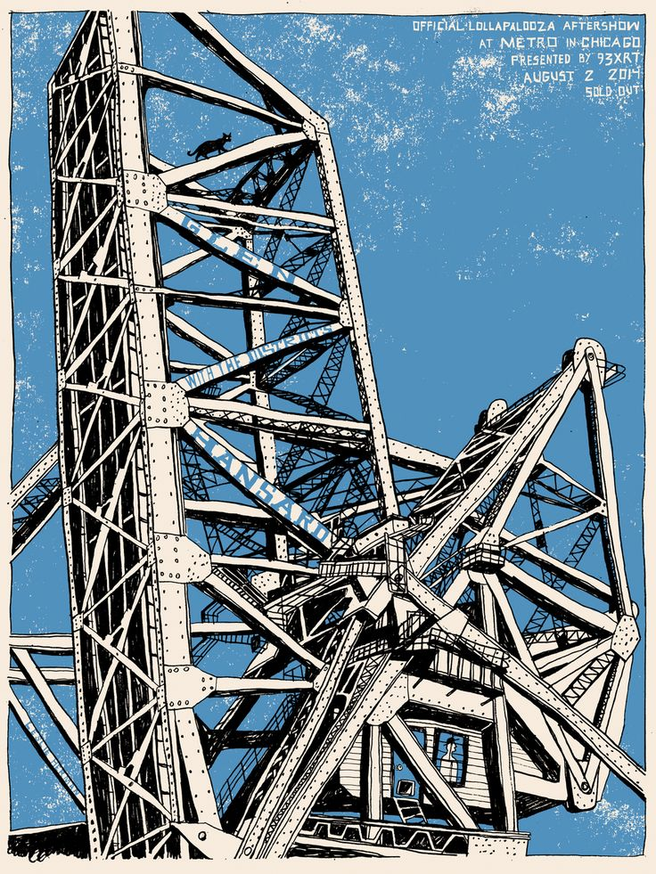 """18""""x24"""" screen printed concert poster for Glen Hansard at Metro in Chicago.  Lollapalooza after show."""