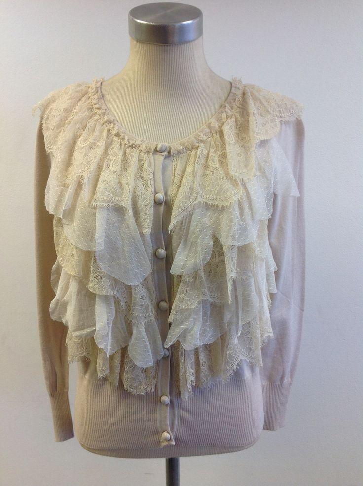 Vintage lace cardi at #Nicci