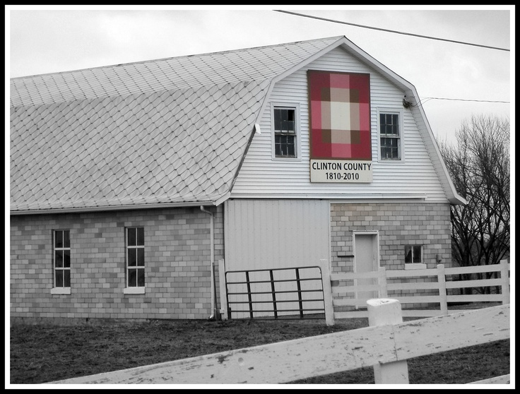 Ohio barn quilt - Clinton County