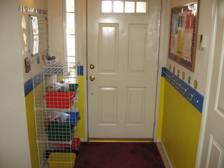 home daycare front entrance