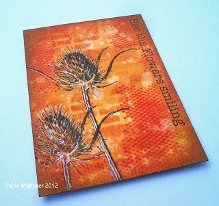 Just For One Day: Art Journey - Nature Flowers Stamps (part 2)