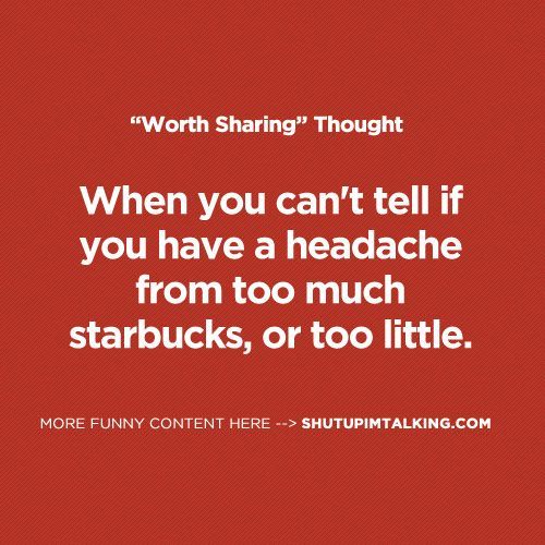 Can You Get A Headache From Drinking Too Much Coffee