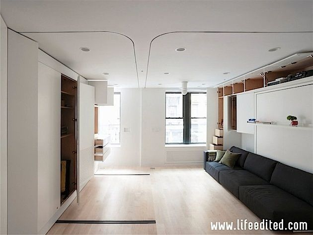 Graham Hill, Founder Of Tree Hugger And Now Founder Of Life Edited Is  Selling His 420 Sq. Transforming NYC Micro Apartment Called The You Might  Remember My ...