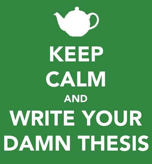 thesis of business english