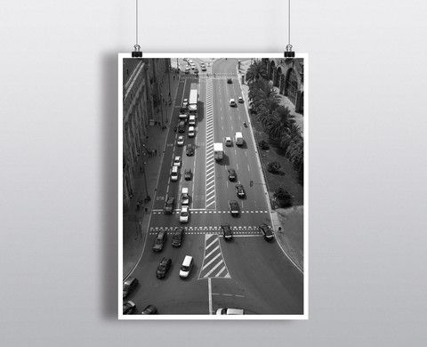 Barcelona Traffic – Such A Poster