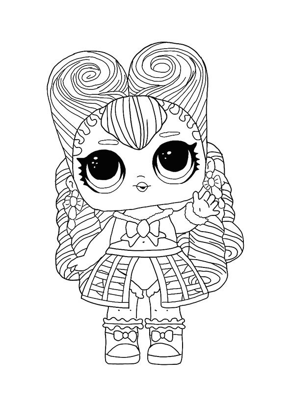 Lol Hairvibes Masquerade Coloring Page Star Coloring Pages Coloring Pages Coloring Pictures